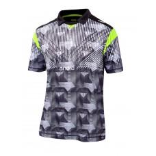 Футболка Andro DOYLE черный салатовый XL