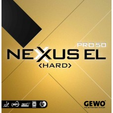 Накладка Gewo NEXXUS EL PRO 50 HARD 2,1 красная