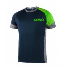 Футболка GEWO PESARO синий зеленый L