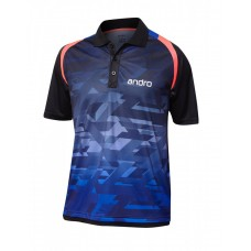 Футболка Andro MURPHY синий черный 152