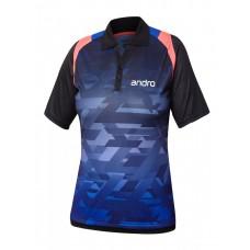 Футболка Andro MURPHY женская синий черный 40