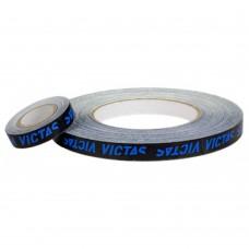 Торцевая лента на ракетку Victas черный-синий 9 мм 1 м
