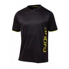 Футболка Andro PARKER черный желтый XS