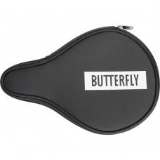 Чехол Butterfly LOGO 2019 по форме ракетки черный