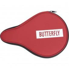 Чехол Butterfly LOGO 2019 по форме ракетки красный