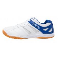 Кроссовки Andro SHUFFLE STEP белый синий 3,5(36)(34,5)(22,5)