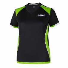 Футболка GEWO MURANO женская черный зеленый S