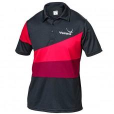 Футболка Yasaka CASTOR черный красный 3XS