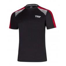 Футболка TSP KUMA  черный красный XS