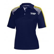 Футболка-поло TSP KUMA  женская синий желтый XS