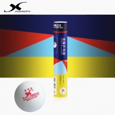 XuShaofa Мячи пластиковые  *** G40+ 6 шт. в цилиндре белые