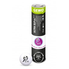 GEWO Мячи пластиковые Ultra SLP 40+ *** WVC2020 6 шт. в цилиндре белые