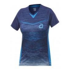 Футболка Andro MINTO женская синий голубой 34