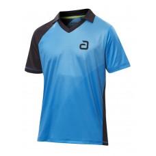 Футболка Andro CAMPELL голубой черный 2XL