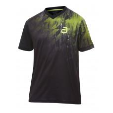 Футболка Andro NARCAS черный зеленый 2XS
