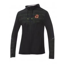 Куртка от костюма Andro ZEDAR черный зеленый XS