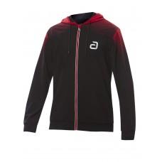 Куртка от костюма Andro SALIVAN черный красный 3XS