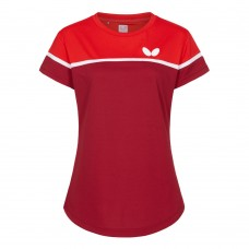 Футболка Butterfly KOSAY женская красный 2XS