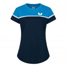 Футболка Butterfly KOSAY женская синий голубой 2XS