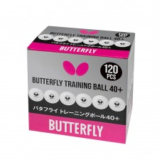 Butterfly Мячи тренировочные *40+ 120 шт. белые