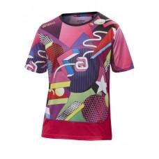 Футболка Andro SNAKE розовый 2XS