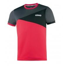 Футболка GEWO ANZIO серый красный M