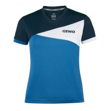 Футболка GEWO ANZIO женская голубой синий 2XS