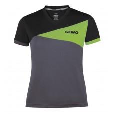 Футболка GEWO ANZIO женская серый салатовый 3XS