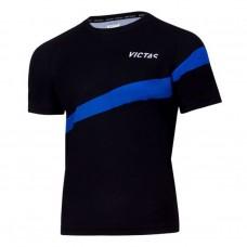 Футболка VICTAS V-TSHIRT 216 черный голубой 3XS