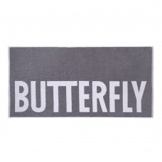Полотенце Butterfly SIGN серый