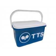TTS Коробка с крышкой  на кронштейне для мячей BLUE BOX