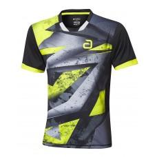 Футболка Andro MALTON черный желтый XS