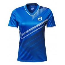 Футболка Andro LISKA женская синий черный 42