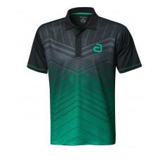 Футболка Andro LETIS черный зеленый S