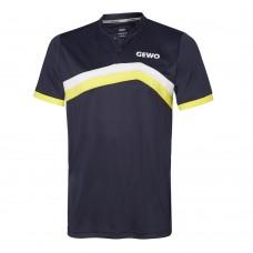 Футболка GEWO BELAS синий желтый XS