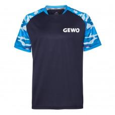 Футболка GEWO RIBA синий камуфляж XS