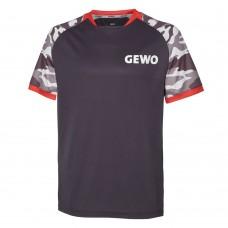 Футболка GEWO RIBA серый красный 2XL