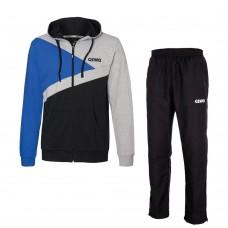 Спортивный костюм GEWO LEVER черный синий 3XL