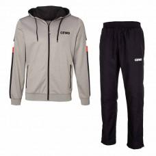 Спортивный костюм GEWO CORVO серый черный 3XL