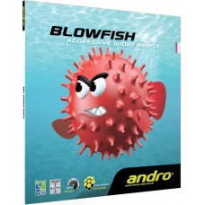 Накладка Andro BLOWFISH 1,8 красная