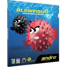 Накладка Andro BLOWFISH PLUS 1,8 красная