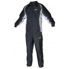 Спортивный костюм TSP MINORU серый-белый-зеленый 3XS