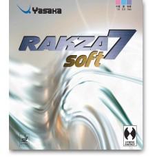 Накладка Yasaka RAKZA 7 Soft 2,0 красная