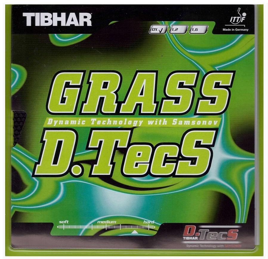 Накладка Tibhar Grass D.Tecs OX красная