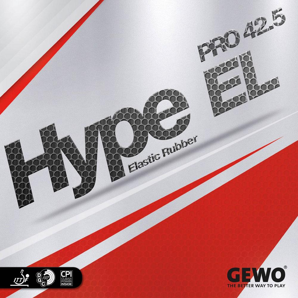 Накладка Gewo HYPE EL PRO 42.5 1,9 красная