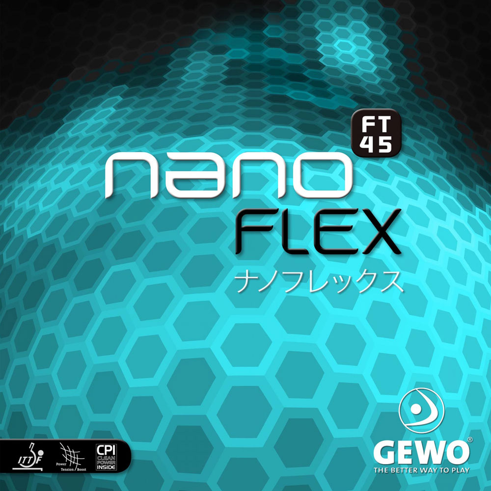Накладка Gewo NANOFLEX FT45 1,9 красная