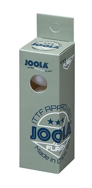 Joola Мячи FLASH пластиковые *** 40+ 3 шт. белые