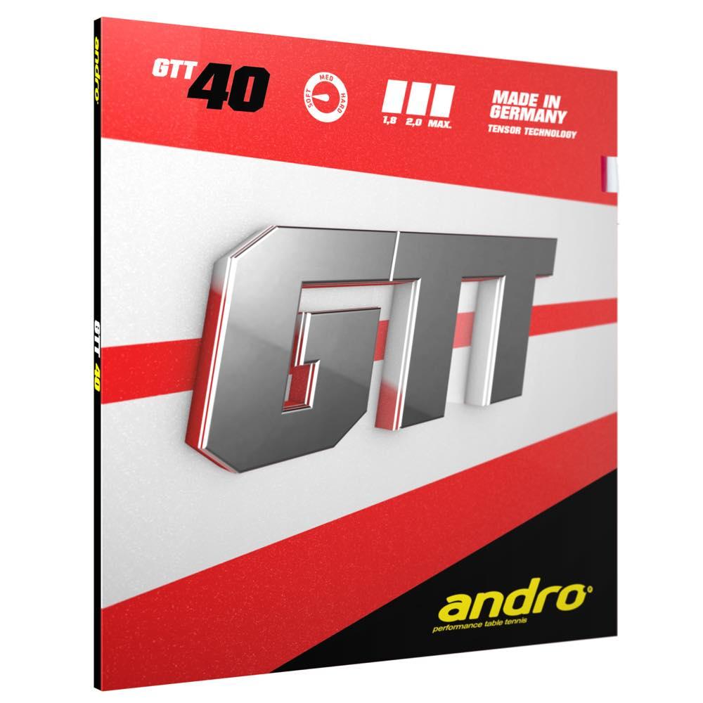 Накладка Andro GTT40 1,8 красная
