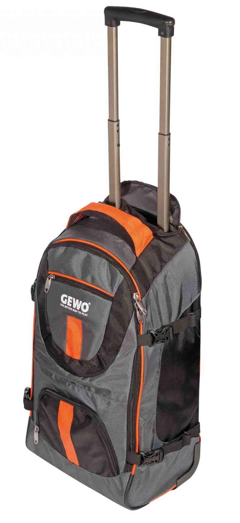 Сумка GEWO TROLLEY M серый-оранжевый
