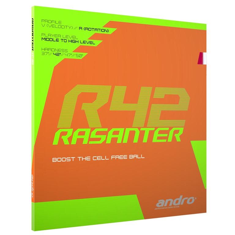 Накладка Andro RASANTER R42 1,7 красная